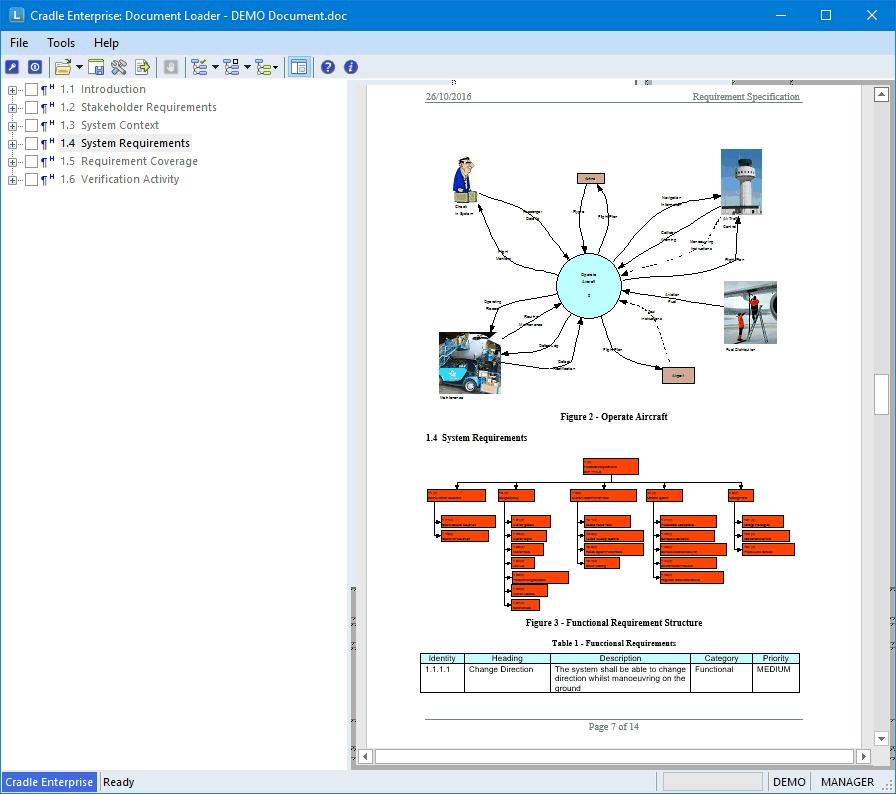 Cradle Document Loader screenshot